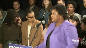 Stacey Abrams acknowledges Brian Kemp will be Georgia governor